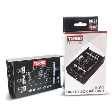 Direct Box Passivo - Turbo Eletronic