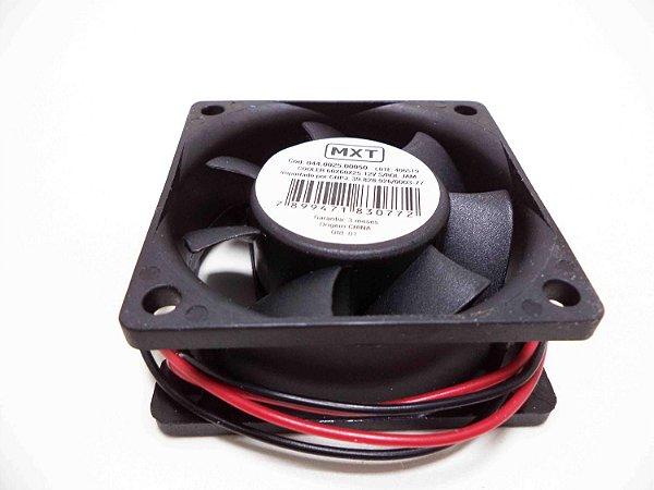 Cooler Ventoinha 60x60x25 12v S/rolamento - Mxt