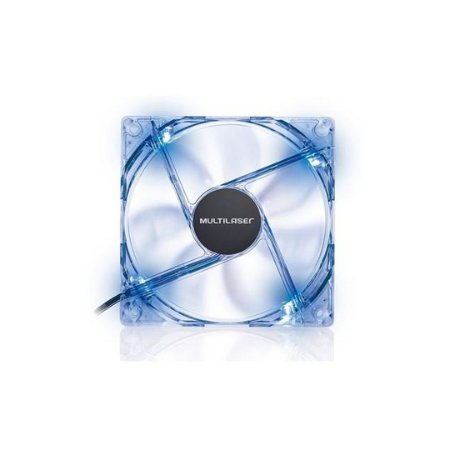 Cooler Fan Multilaser 12x12 Cm C/ Led Azul - Ga135