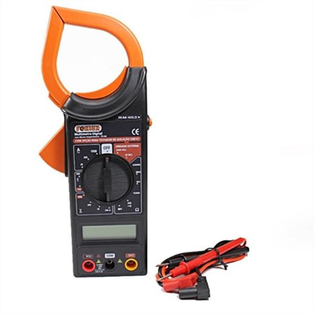 Multímetro Digital C/ Alicate Amperímetro Foxlux Fx/aa