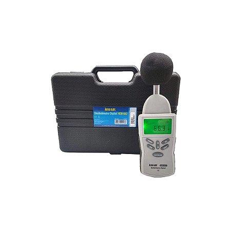 Decibelímetro Digital Profissional Hikari Hdb-882 C/maleta