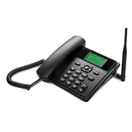 Telefone Rural Quadriband Gsm Epfs 11 - Elsys