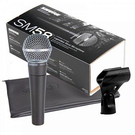 Microfone Vocal Shure SM58
