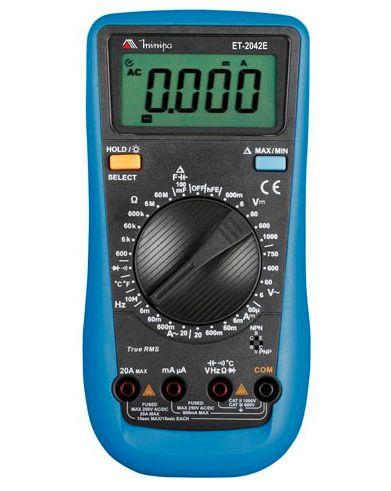 Multímetro Digital Minipa ET-2024E