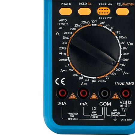 Multímetro Digital Portátil Minipa - Et-1400