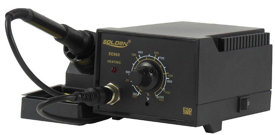 Estação de Solda Profissional SE-960 – Solden