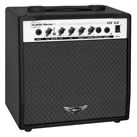 Cubo Amplificador Para Guitarra Cg 35 Voxstorm 20 Watts Rms
