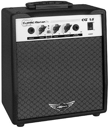 Cubo Amplificador Para Guitarra Cg 15 Voxstorm 15 Watts Rms