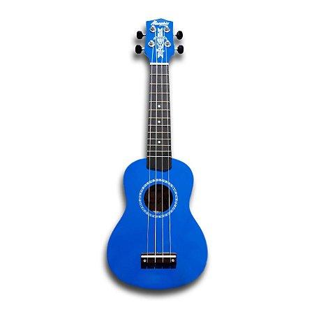 Ukulele Soprano Honu Memphis By Tagima Azul