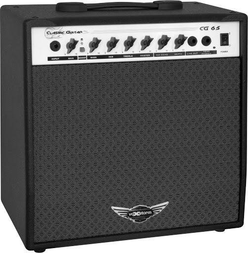 Amplificador De Guitarra Voxstorm Cg65 Classic Guitar 40w