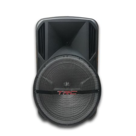 Caixa De Som Amplificada Trc 5536 Bluetooth Fm Usb 360w