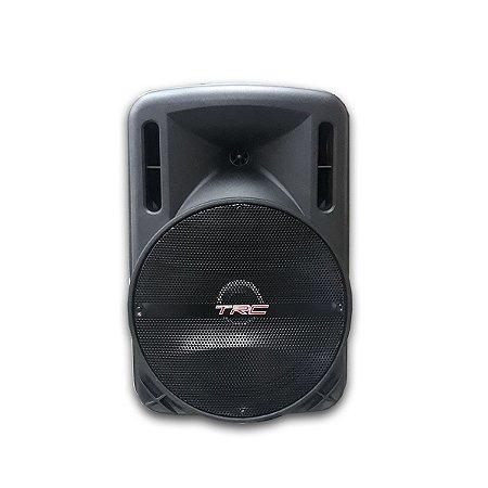 Caixa De Som Amplificada Portátil Trc 5575 Bluetooth 750w