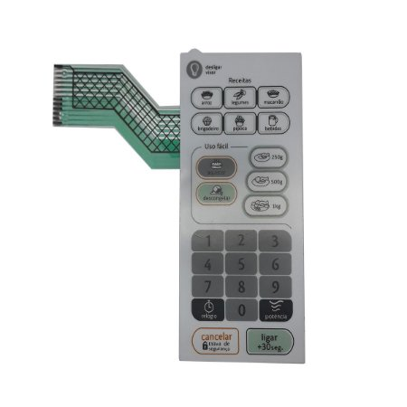 Membrana Teclado Microondas Consul Cms26