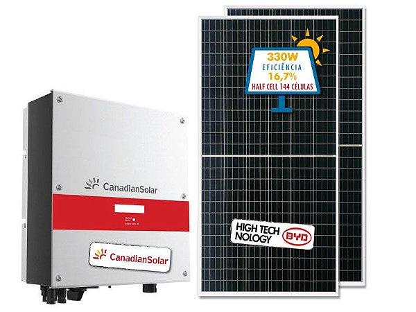 Kit Fotovoltaico completo com potência de 1,32 kWp