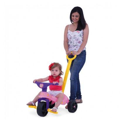 Triciclo Fofinha com Empurrador