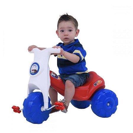 Triciclo New Turbo Vermelho