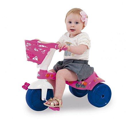 Triciclo Fofete com Cestinha