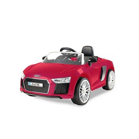 Carrinho 6 voltz Audi R8 Red