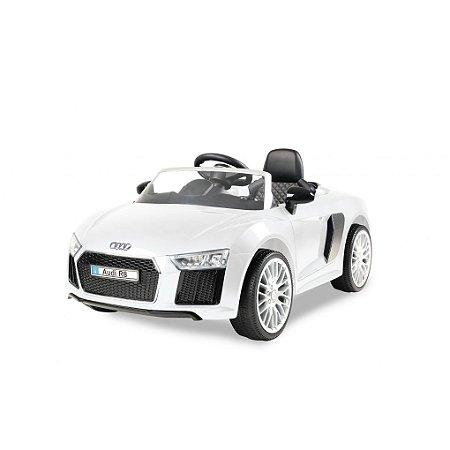 Carrinho 6 voltz Audi R8 White
