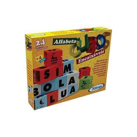 Cubos Encaixáveis Alfabeto