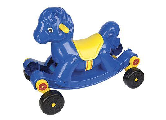 Andador Cavalinho 2 em 1 Azul
