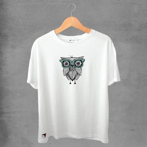 Camiseta masculina e feminina basic branca 100% Algodão Coleção Apaoká Nº 7