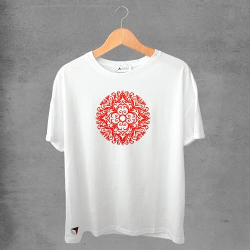 Camiseta masculina e feminina basic branca 100% Algodão Coleção Apaoká Nº 40