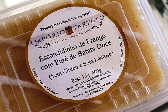 Escondidinho de Frango com Batata Doce 400 gramas