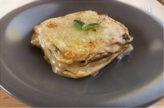 Lasanha de Rosbife com Molho Funghi e Toque de Gorgonzola 350 gramas