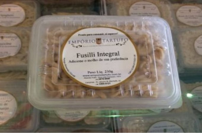 Fusilli Integral Cozido 230 gramas