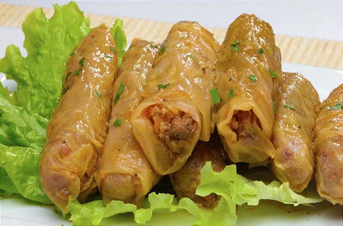 Malfuf (Charuto) de Repolho 200 gramas Snoubar Cozinha Libanesa
