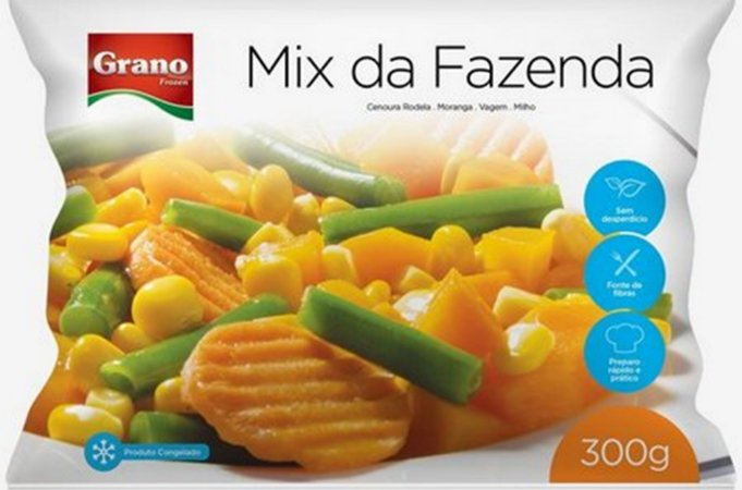 Mix de Legumes da Fazenda 300 gramas Grano