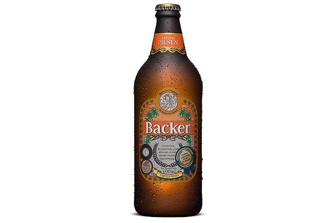 Cerveja Backer Pilsen 600 ml