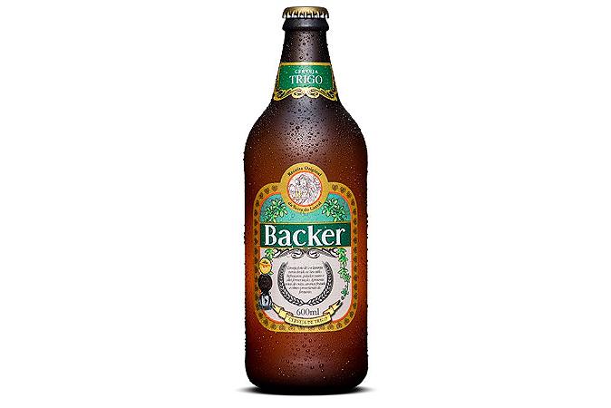 Cerveja Backer Trigo 600 ml