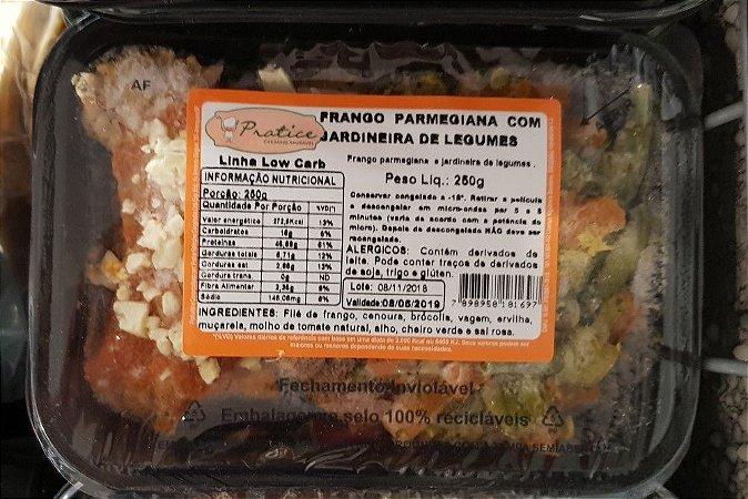 Frango Parmegiana com Jardineira de Legumes 250 gramas