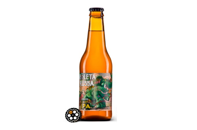 CERVEJA ROLETA RUSSA EASY IPA LONG NECK 355ML