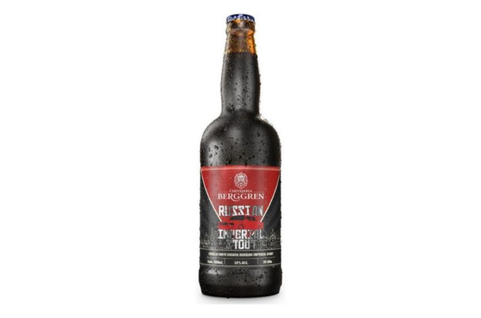 CERVEJA ESCURA RUSSIAN IMPERIAL STOUT BERGGREN 500ML