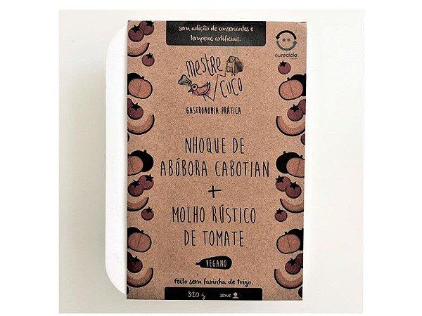 NHOQUE DE ABOBORA C/ MOLHO TOMATE VEGANO 320G MESTRE CUCO