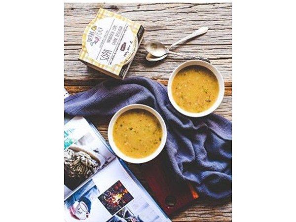 Sopa de Mandioca Com Carne Mestre Cuco