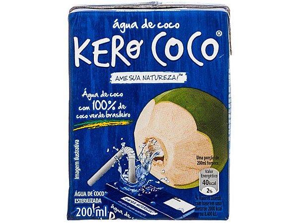 ÁGUA DE COCO 200 ML KERO COCO
