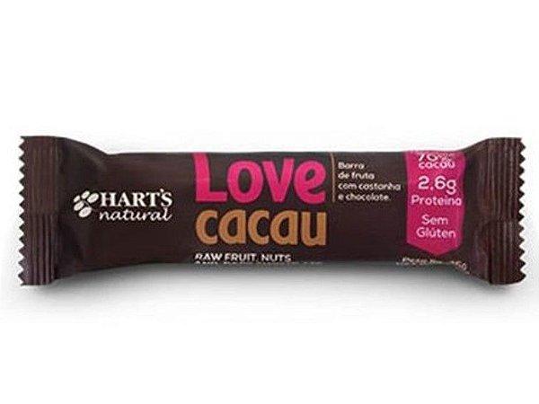 BARRINHA LOVE CACAU HARTS 35 GRAMAS