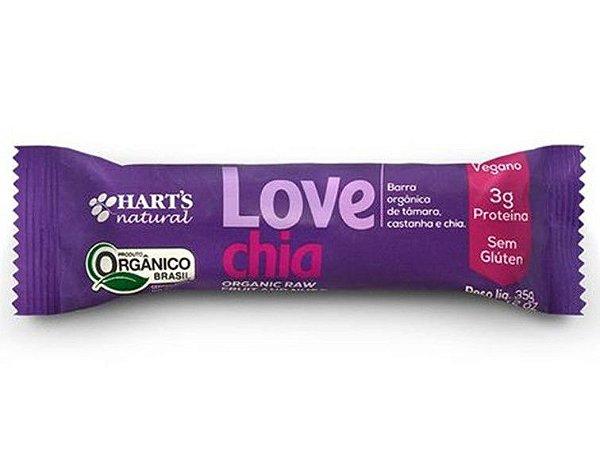 BARRINHA LOVE CHIA HARTS 35 GRAMAS