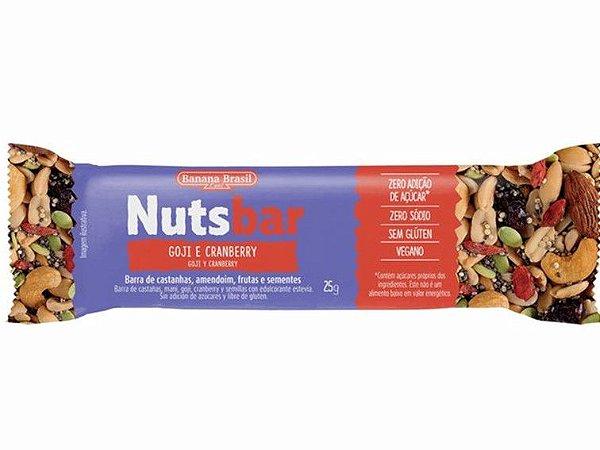 Nuts bar gojy/cranb 25g