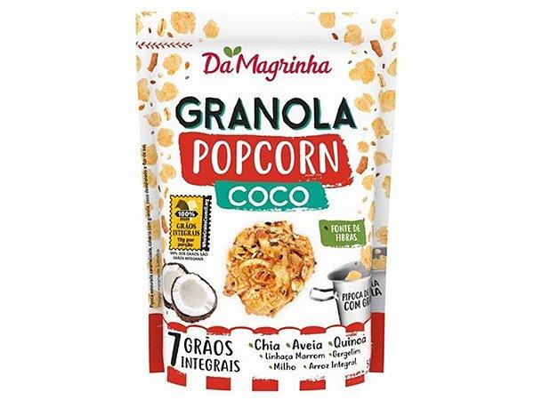 DA MAGRINHA GRANOLA POPCORN COCO 50 GRAMASR