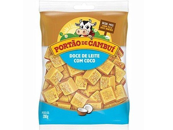 DOCE LEITE COM COCO 200 GRAMAS PORTAO CAMBUI