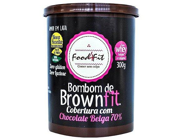 BOMBOM DE BROWNFIT 300 GRAMAS FOOD4FIT