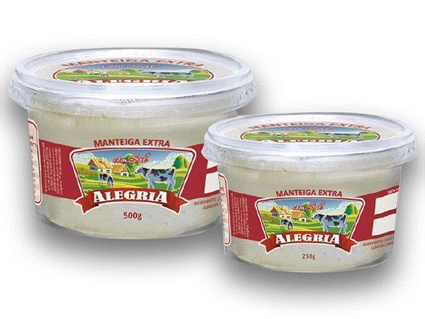 Manteiga extra com sal 250g Alegria