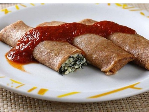 Panqueca integral frango e legumes 290 gramas pratice