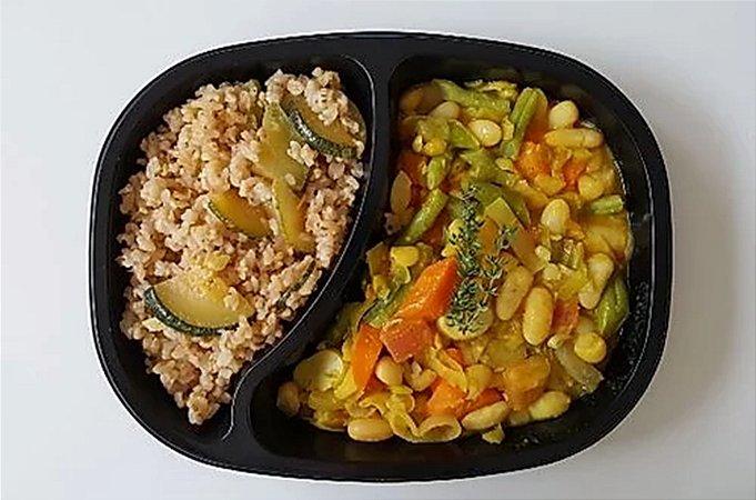 Cassoulet de Legumes, Arroz Integral com Abobrinha 430 gramas Chef Congelados