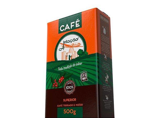 CAFÉ TORRADO MOÍDO 500 GRAMAS AVIAÇÃO